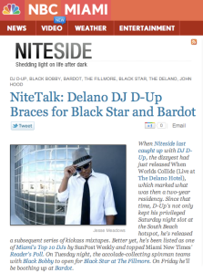 NBC Miami Blackstar Bardot 1