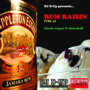 rum raisin 2 cd cover